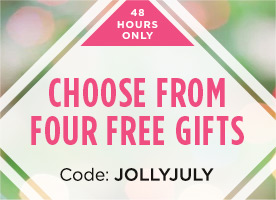 Choose one of four free gifts