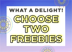 Choose two free gifts