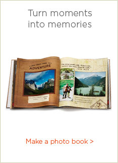 TURN MOMENTS INTO MEMORIES - MAKE A PHOTO BOOK