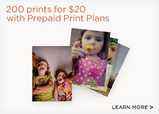 200 prints for $20 with Prepaid Print Plans