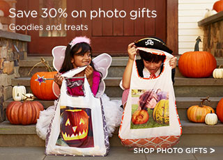 Save 30% on photo gifts