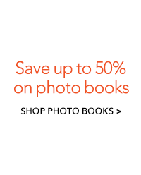Save up to 30% on photo books