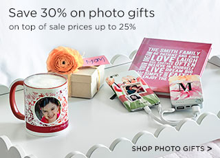 SHOP PHOTO GIFTS >
