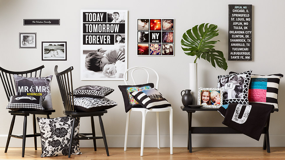 Black & White Collection | Black & White Room Decor | Shutterfly