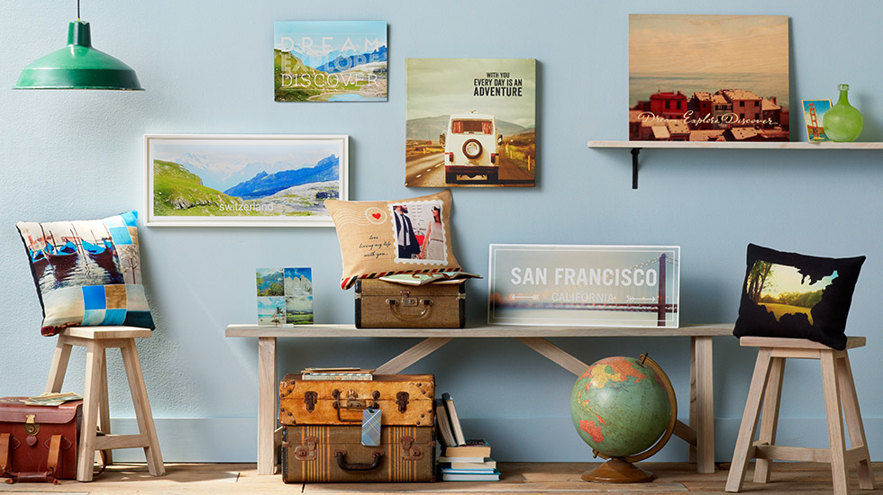 Travelogue Collection | Travel Decorations | Home Decor | Shutterfly
