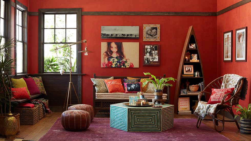 Global Home Decor: Global Living Room
