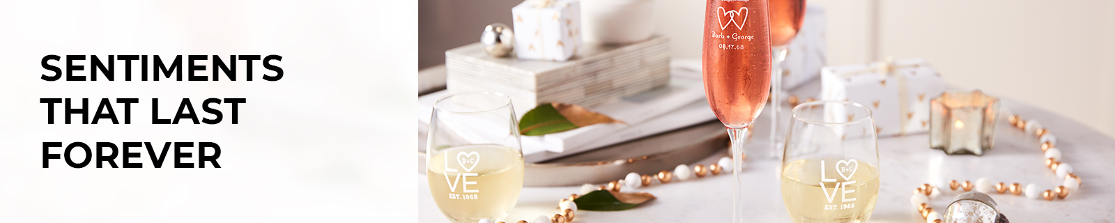Personalized Glass Gifts & Glassware