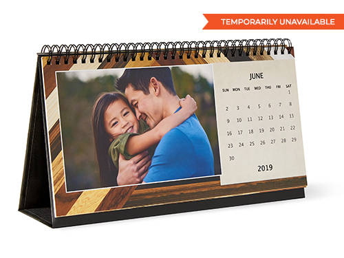 Desk Calendars, 12 months, Vintage Fleurs