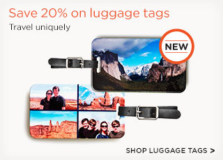 Save 20% on luggage tags