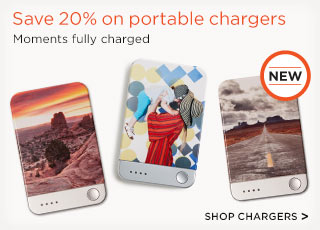 Save 20% on portable chargers - Shop Chargers