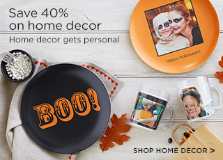 Save 40% on home decor