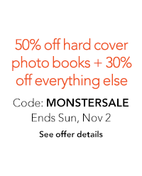Save 50% on hardcover books + 30% off everything else