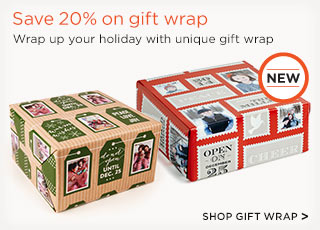 Save 20% on gift wrap - Shop Gift Wrap