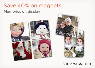 Save 40% on magnets