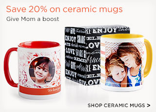 SHOP CERAMIC MUGS >
