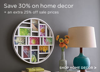 SHOP HOME DECOR >