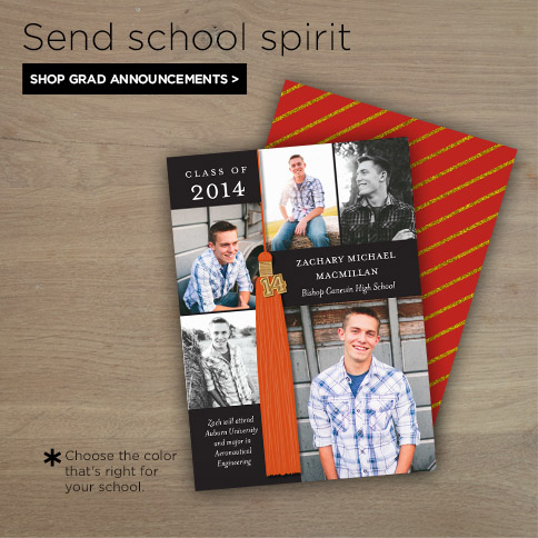 Shop Grad Announcements