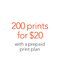 200 Prints for $20