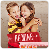 Be Mine Valentine from Shutterfly