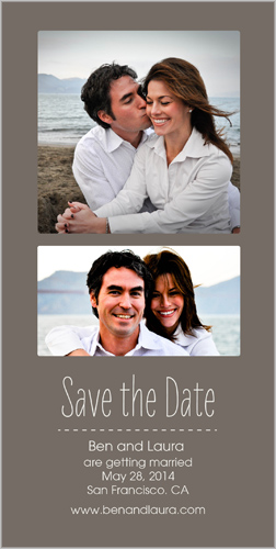 Simply Time Save the Date