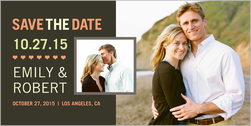 Exquisite Union Save the Date