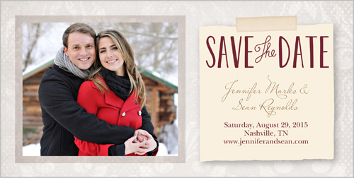 Natural Pair Save the Date