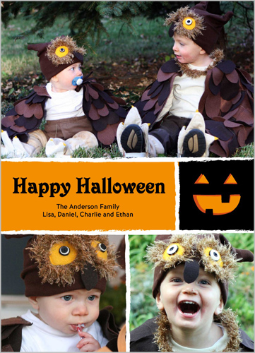 Spooky Eyes Halloween Card