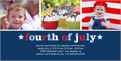 Fourth Of July Fourth of July Card