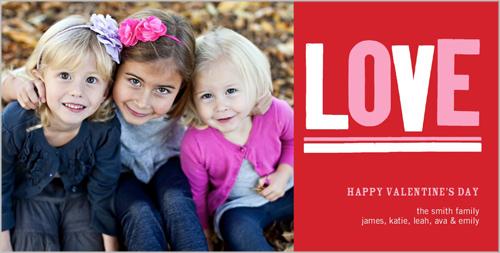 L-O-V-E Valentine's Card