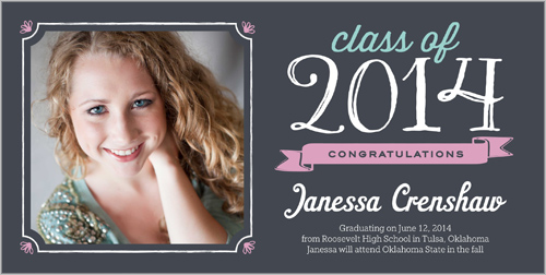 Favorite Frame Graduation Card