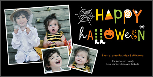 Creepy Crawlers Halloween Card