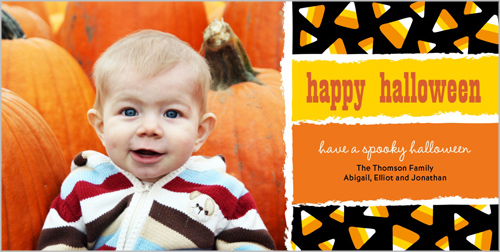Candy Corn Fun Halloween Card