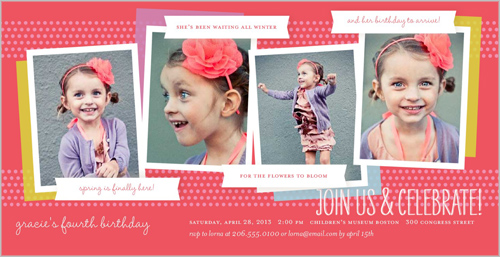 Whole Lotta Her Birthday Invitation by pottsdesign