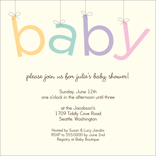 baby shower invites best baby decoration