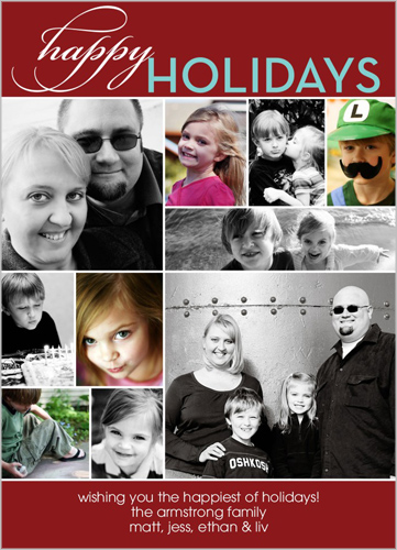 Whirlwind Of Surprises Shutterfly Holiday Card Review