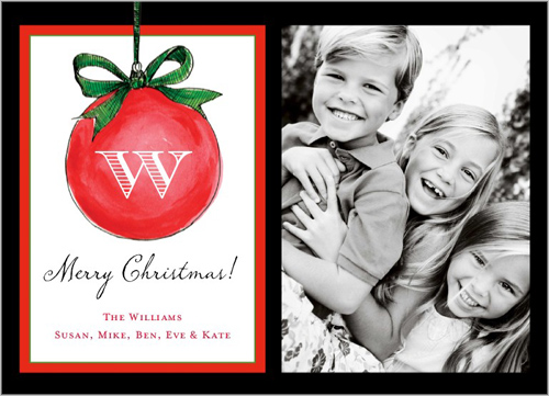 Shutterfly Personalized Christmas Cards - Go Grow Go!