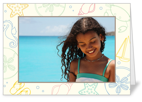 Seaside Sand 5x7 Folded Card by Haute Note