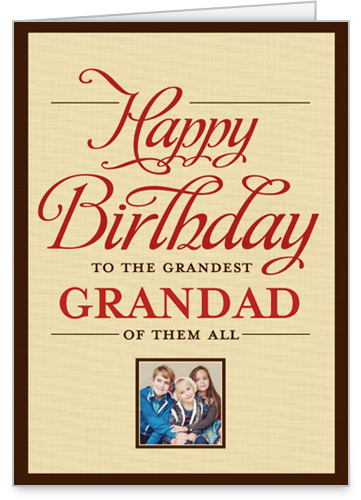 Greatest Granddad Birthday Card by treat.
