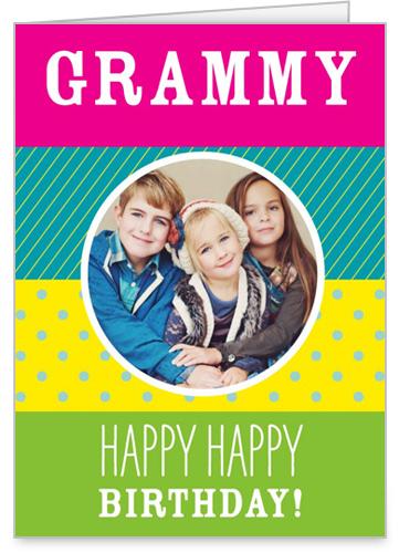 Pattern Fun Birthday Card by treat.