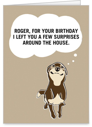 Smelly Surprise Birthday Card by treat.